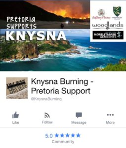 Knysna outreach moving pics